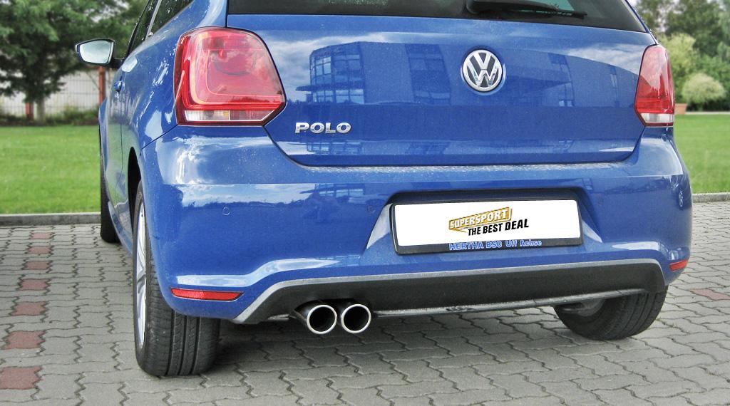 VW-Polo-6R-Endschalldämpfer-1-2-1-4-1-6-TDI