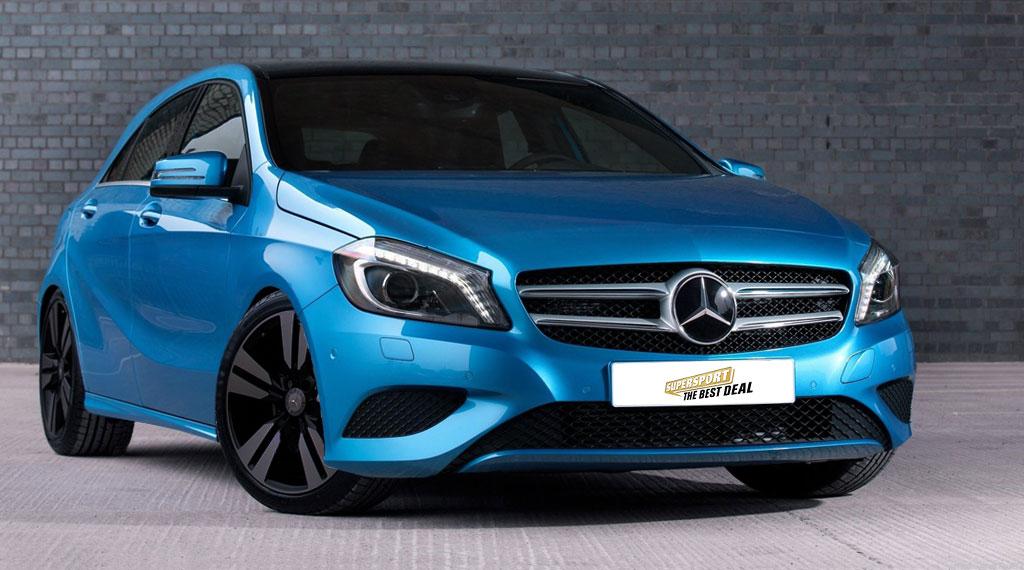 Mercedes-Benz A-Klasse W176 Tieferlegung