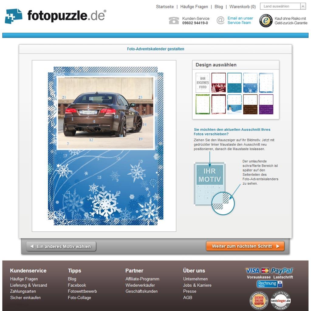 Foto-Adventskalender für Tuner und Autofans