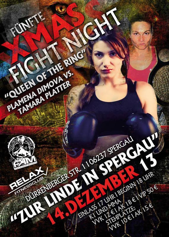 5. XMAS Fight Night in Spergau/Merseburg bei Leipzig