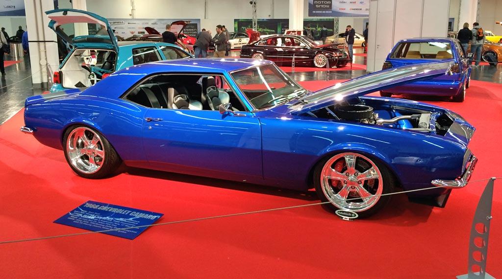1968 Chevrolet Camaro tuning experience 2013 in Essen