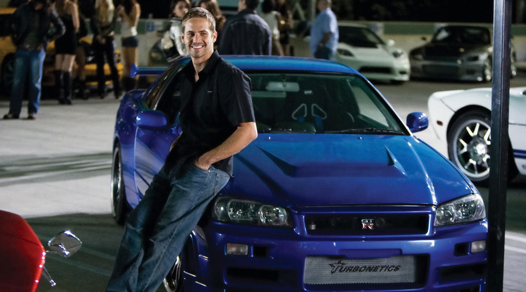 Fast and Furious Nissan Skyline R35 mit Paul Walker