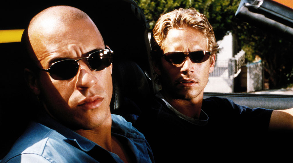 Paul Walker und Vin Diesel in The Fast and the Furious (2001)