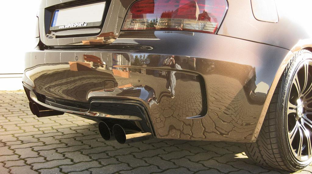 Sportauspuff für BMW d Diesel