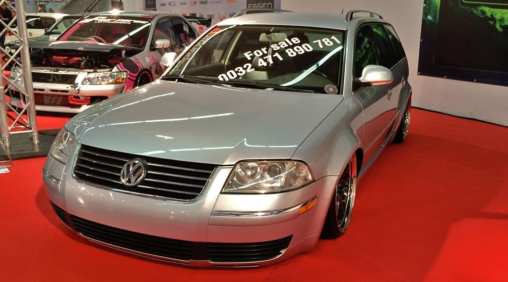 VW Passat Variant 3BG Tieferlegung Essen Motor Show