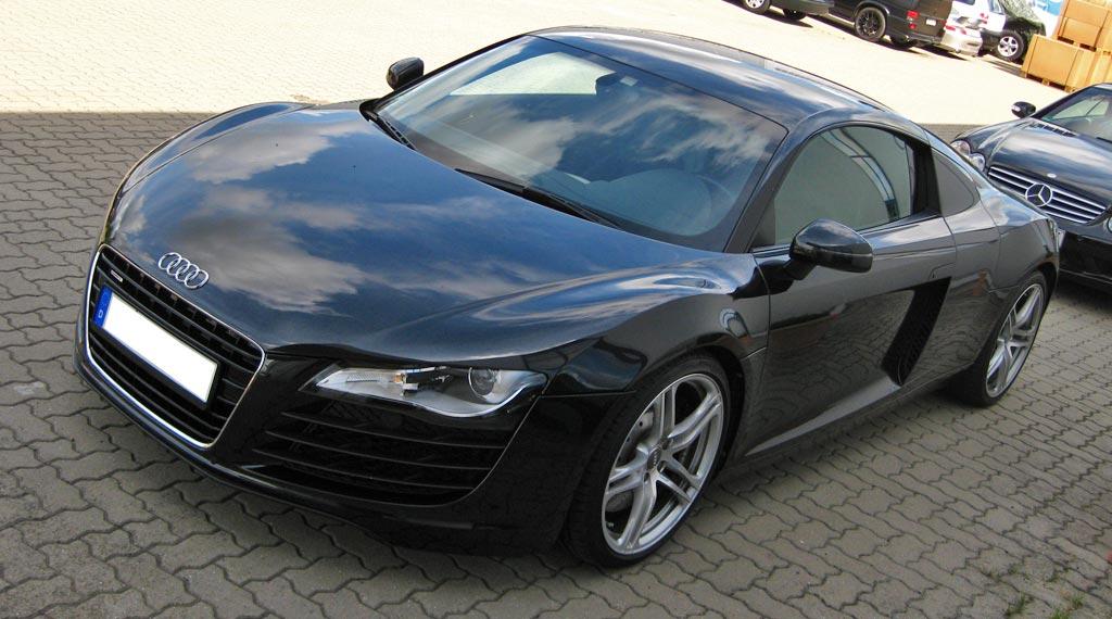 Audi R8 4.2 FSI schwarz