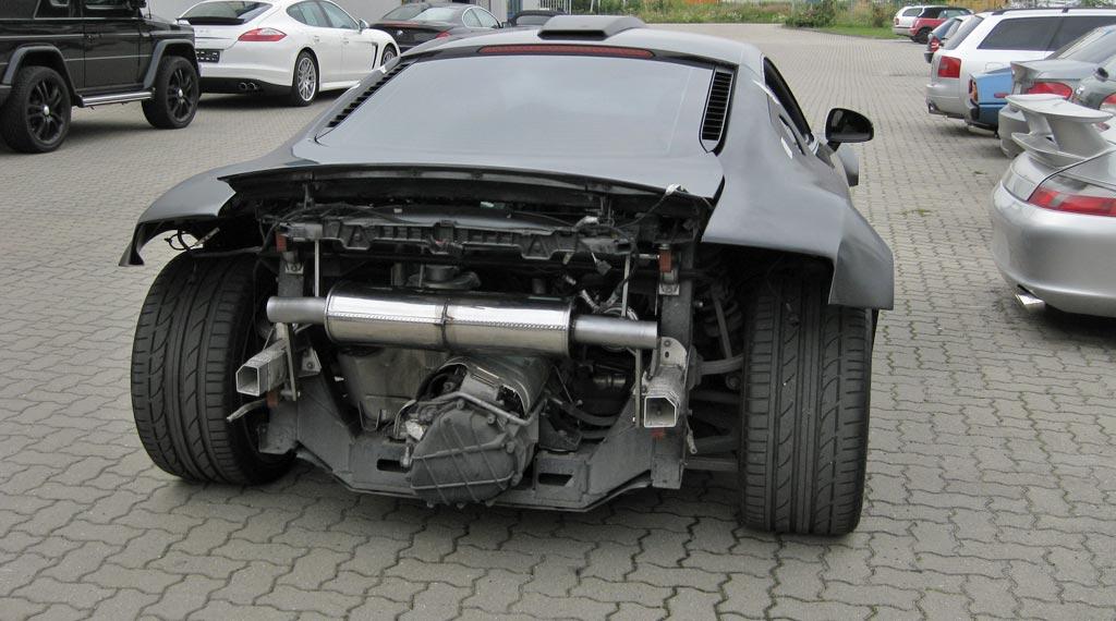Sportauspuffanalge von SUPERSPORT für Audi R8 V8 FSI