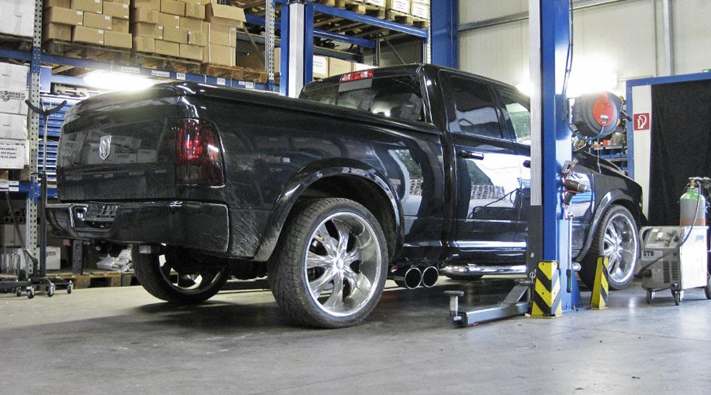 Dodge Ram 1500 Auspuffanlagenbau Berlin und Brandenburg