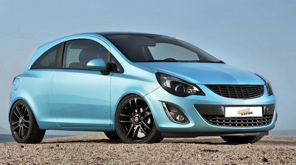 Gewindefahrwerk Opel Corsa D