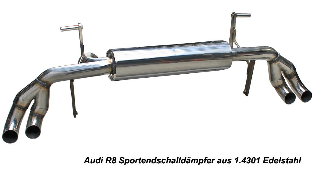 Audi R8 FSI V8 Sportauspuffanlage