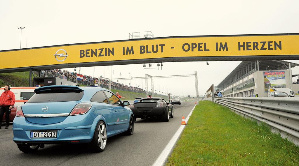 Opel Treffen Oschersleben 2014 mit Achtelmeile Contest