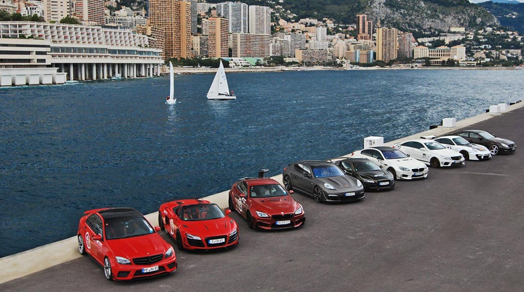 Monaco Tour 2014 mit SUPERSPORT und PRIOR DESIGN