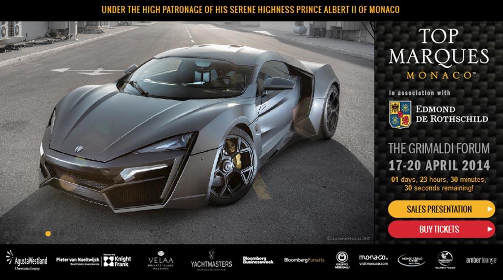 Top Marques Monaco 2014 Luxusmesse