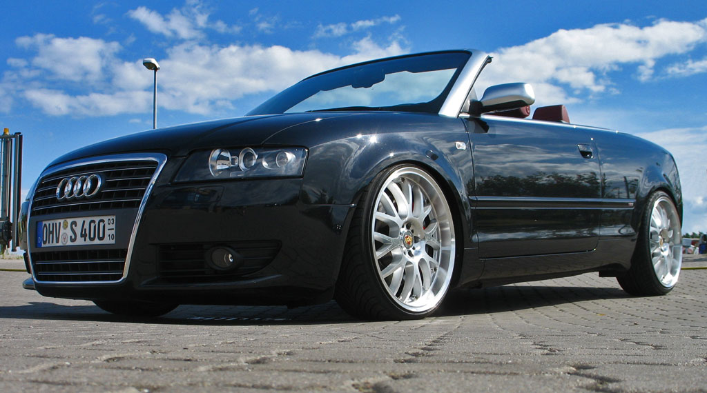 Tieferlegungsfederteller für Audi A4 (B5/B6/B7) und A6 (4B/4F)