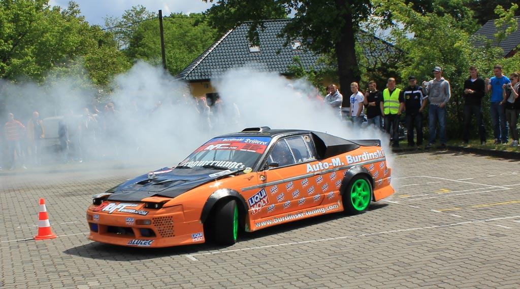 Dekra Tuning Day 2014 Nissan 200SX Drifting