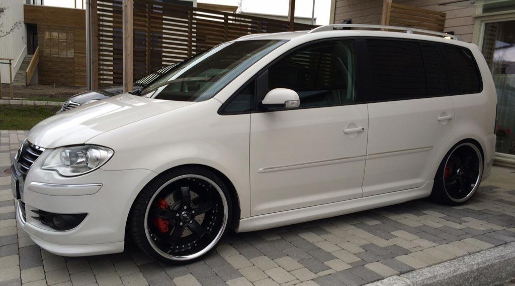 VW Touran (1T) Supersport Gewindefahrwerk