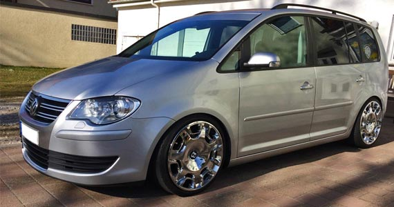 VW Touran tieferlegen mit Gewindefahrwerk
