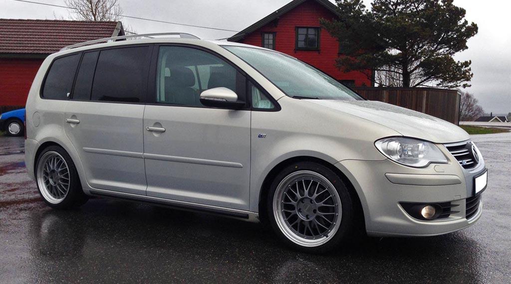 VW Touran Tieferlegung mit Gewindefahrwerk