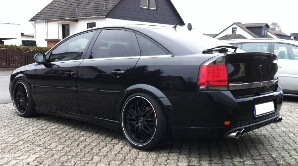 Opel Vectra C Gewindefahrwerk Black Evolution