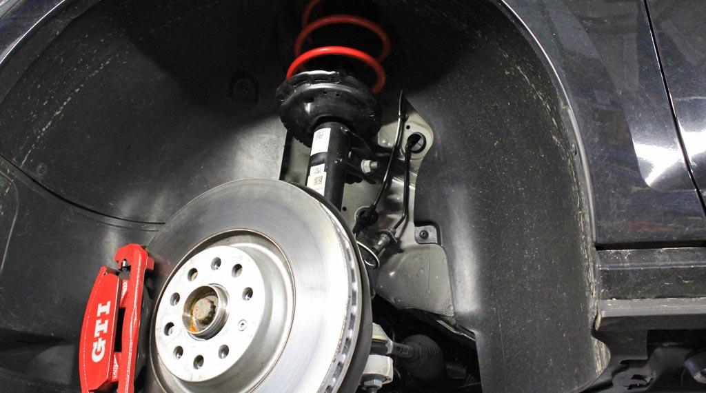 Tieferlegungsfedern für VW Golf 7 GTI von Supersport