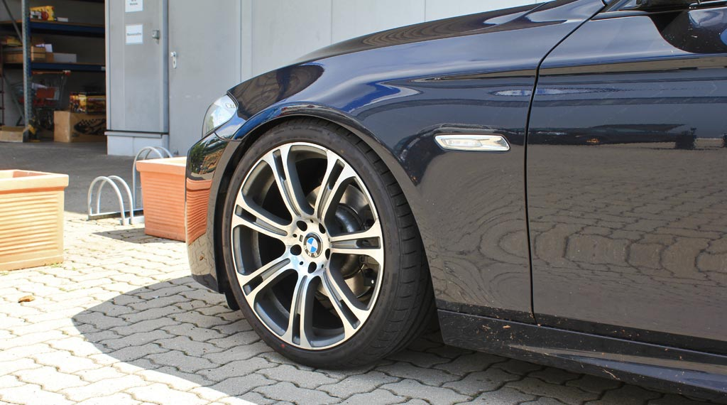 Tieferlegungsfederteller für BMW 5er (F10/F11) von Supersport SUFT014