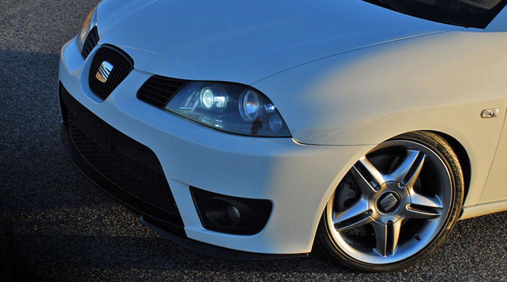 Seat Ibiza 6L Tieferlegung mit Sportfahrwerk oder Gewindefahrwerk