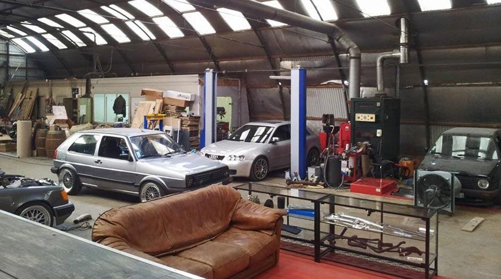 Tuning von Secretauto Frankreich VW Golf2 VR6