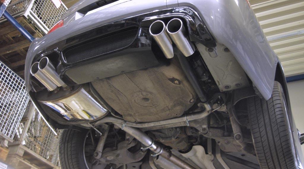 BMW E60 E61 Duplex-Endschalldämpfer von Supersport