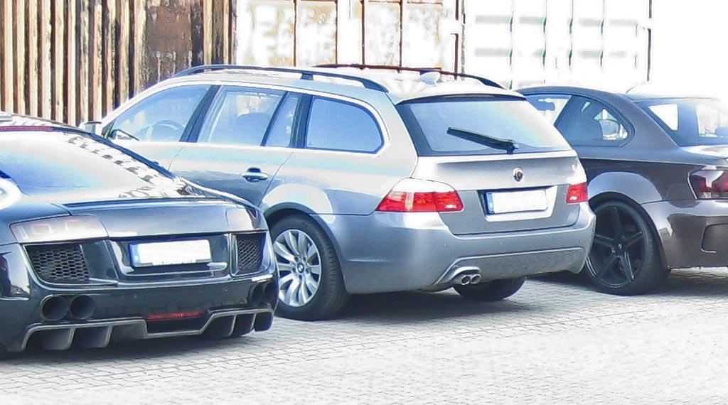 BMW 5er E61 Touring original Auspuff