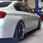 BMW F30 Limo Gewindefahrwerk Black Evolution von Supersport