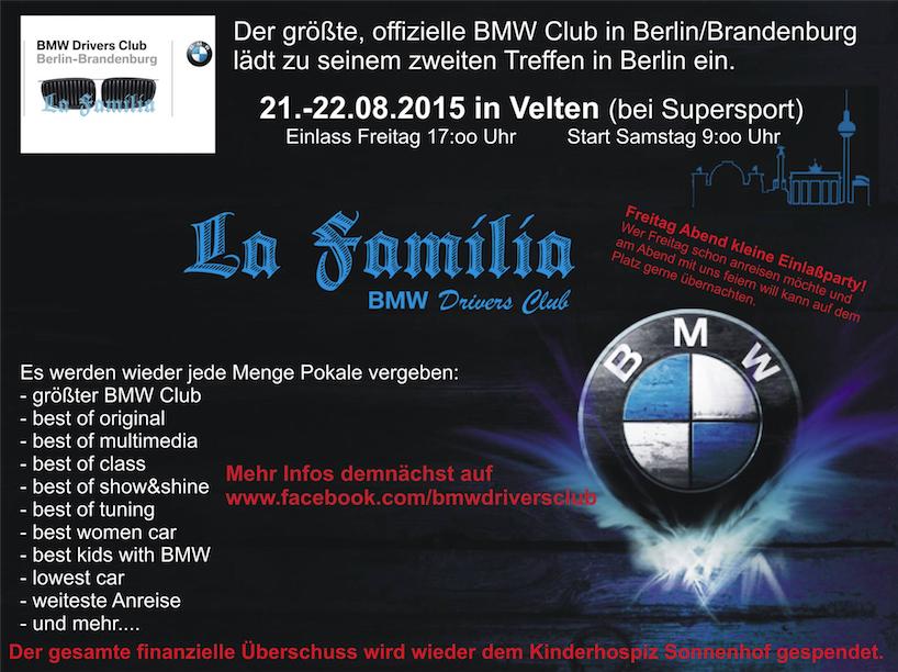 BMW-Tuningtreffen von LaFamilia Berlin 2015