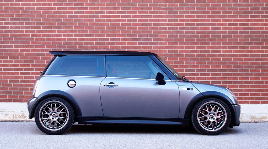 Gewindefahrwerk Black Evolution für Mini R56 R55 R57 Tieferlegung